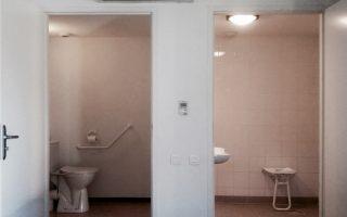 Chambre pour personnes à mobilité réduite